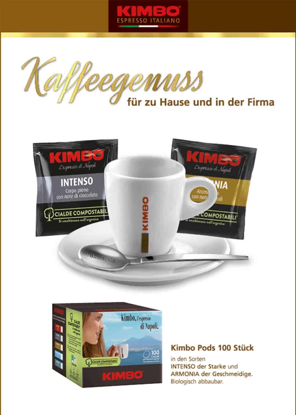 Weinkellerei Meraner Kaffeegenuss Kimbo