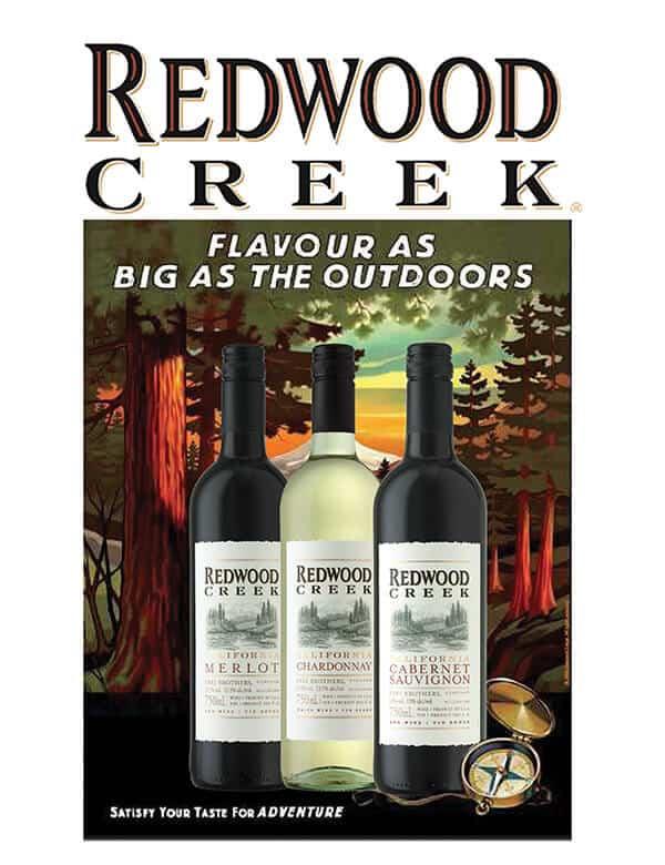 Weinkellerei Meraner Kalifornien Redwood Creek